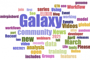 Galaxy Community news, April 2021